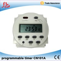 Wholesale CN101A Digital LCD Power Weekly Programmable Electronic digital Timer Switch AC V A