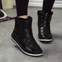 Wholesale Women Winter Boots New Brand Waterproof Shoes Woman Snow Boots Fur Plush Inside No SP