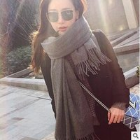 Wholesale Top Cashmere Winter Scarf Man And Women Brand Big Size Scarves Men Pashmina Infinity Scarf Women Thick Shawls