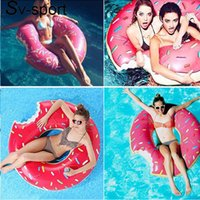 Wholesale Swimming Diving Air Mattresses inflatable water Float M pink Pool Inflatable Ride On Pool Air Mattress Swimming Ring Water Fun Pool Toys