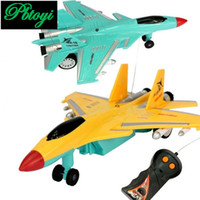 Wholesale Electric two remote control plane aviation model toys children toys PC1025