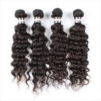 El pelo virginal brasileño, la cortina del pelo de la belleza, la onda profunda se diseña para que la belleza haga la alta calidad y la venta al por menor del precio bajo