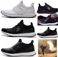 Wholesale New Men Flyknit Ultra Boosts Futureecraft Casual Racer Shoes Breathable Mesh Trainers EUR SIZE