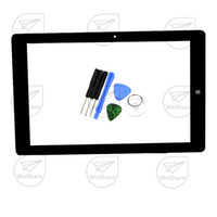 as pic as pic Capacitive Screen Wholesale- 10.1 inch Touch Screen For Chuwi Hi10 Pro CW1529 Dual OS Windows & Android Intel Tablet PC Panel Digitizer Sensor Free Shipping