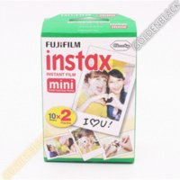 Genuine 50 hojas <b>Fuji Instax</b> película blanca Fujifilm Instax Mini 8 película para 8 50s 7s 90 25 Compartir SP-1 cámaras instantáneas