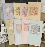 Wholesale The Elegant hollow out carve pearl card Bless the multi purpose card birthday card thank you CARDS