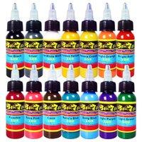 Wholesale Solong Tattoo New Solong Tattoo Ink Colors Set oz ml Bottle Tattoo Pigment Kit TI301