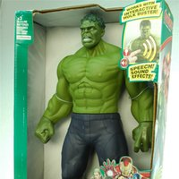 avengers assemble movie - oys Hobbies Action Toy Figures Action Figures Toys Hulk Hulkbuster Dolls Titan Here Toy Talking Hulk Marvel Avengers Assemble Re