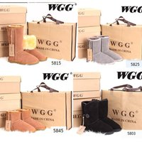 Wholesale fashion new High Quality WGG Women s Classic tall Boots Womens Shoes Work Snow boots Winter Shoes leather boots US SIZE