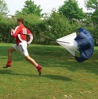 Wholesale 2017 new Speed Training Resistance Parachute Running Chute Speed Chute Running Umbrella DHL free