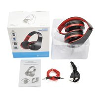 almas inalámbricas al por mayor-Eadphones soul Manos Libres Estéreo Headfone Casque Audio Auriculares Bluetooth Big Auricular Auricular Inalámbrico Inalámbrico para PC ...