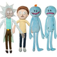 Wholesale Rick and Morty Happy Sad Meeseeks Anime Stuffed Doll Plush Toy Doll Children Kids Christmas Gifts