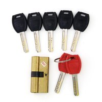 Wholesale High Quality Single Row AB Kaba Big Handle False Curve AB Kaba Lock Practice Lock With Keys