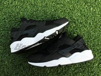 Wholesale Hot sell Famous Air Huarache Men Sport Shoes Black White Sneakers Huaraches Sneakers Men Huraches Shoes