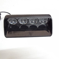 16W green light for ems - 16LED car front windshield suction cup light flash warning lights used for car truck snowplow police EMS ambulance DC12