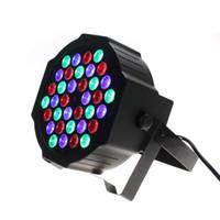 Wholesale 5X RGB Led Par w DMX512 LED Stage Par Light Wash Dimming Strobe Lighting Effect Lights for Disco DJ Party Show