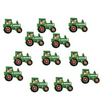 accessories for tractor - Diy Tractors patches for clothing iron embroidered patch applique iron on patches sewing accessories badge stickers on clothes