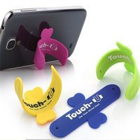 Wholesale Silicone Stand Holder Universal Portable Mount Cellphone Touch U hloder One Touch Stander For iPhone Samsung HTC Sony iPad Tablet