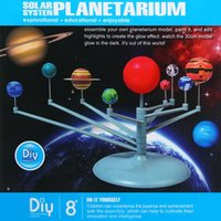 Wholesale CUTESUNLIGHT Assembly Glow Solar System Planetarium Model Educational Toy Imagination Training