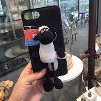 apple sheeps - Shaun the Sheep or elephant Phone Case per set for iphone plus s plus splus pink