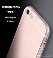Wholesale For iphone7 following from s apple plus silicone transparent soft shell new ultra thin contracted from cases