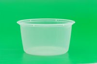 Wholesale New ml Disposable Round Transparent Lunch Boxes Food Container Snack Packing Boxes Microwaveable PP Lunch Bento Box
