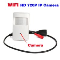 Wholesale HD P WIFI Mini Camera Motion Detector HD PIR STYLE Wireless IP Camera Mini Ip Camera Wifi P2P Security