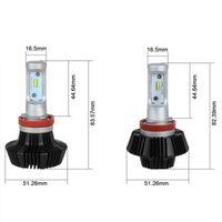 auto headlamps - Super Bright Car Headlights H7 LED H8 H11 HB3 HB4 W lm Auto Automobiles Headlamp Car Lighting
