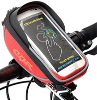bar seating - Bicycle bag new arrival touchscreen phone bag bike Front Handlebar Bag to Bike for Plus Colors