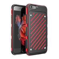 armor combine - Saiboro Premium TPU PC Combined Thick Frame Protective Armor Rugged Tough Phone Case for iPhone s Plus s Plus