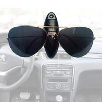 Wholesale Car Glasses Holder Auto Vehicle Visor Sunglass Eye Glasses Business Bank Card Ticket Holder Clip Support