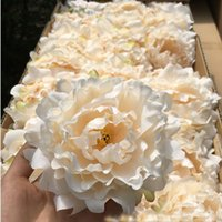 Wholesale Artificial Flowers Silk Peony Flower Heads Wedding Party Decoration Supplies Simulation Fake Flower Head Home Decorations cm