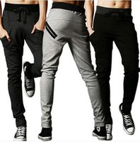 big mens casual pants - Hot Autumn Men Pants Fashion Men Sportwear Pants Casual Slim Fit Mens Joggers Sweat Pants Big Size M XXL