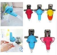 bathroom helpers - Wash Helper Kids Water Extender Cartoon Children Guiding Gutter Faucet Extender Bathroom Hand Washing Water Chute