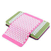 acupressure neck - Acupressure Mat for Back Neck Pain Relief Muscle Relaxation Pressure Plate Yoga Pad cm SE067