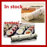 Wholesale Sushezi Roller Kit Sushi Mold Maker Bazooka Sushi Rolls Making Tool Rice Mould Roller Cooking Tools