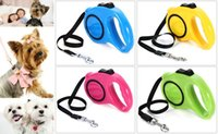 automatic leash - new Elegent m Automatic Retractable Nylon Pet Dog Leash Extending Walking up to kg Dog Lead Adjustable Support One Button Break Lock