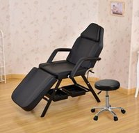 beauty basket - One Piece SPA Black Massage Bed Tattoo Chair Facial Adjustable Table Beauty basket