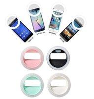 Precio de Anillo de luz led de la cámara-Selfie Portable Flash LED de la cámara de teléfono Luz Mejorar la fotografía Selfie anillo de luz para el iPhone 5s 6s 7 Plus para Samsung S6 S7