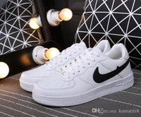 air drills - Hot New Top Quality Men and Women upgraded version New All White Shoes and black with Air drill size run shoes