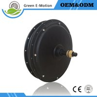 Wholesale High power v v w Electric wheel motor brushless gearless DC hub Motor for electric bicycle