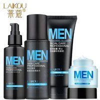 Wholesale block clear Men s Skin Care Professional Cosmetic Cleanser Toner Lotion Sleep Mask Oil Control Remove Acne Blackhead Sun Block