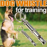 Wholesale Pet Dog Training Obedience Whistle Ultrasonic Supersonic Adjustable Pitch New