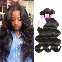 bang hair piece - 8a Grade Peruvian Body Wave Weave Remy Human Hair Bundles Indian Mink Brazilian Malaysian Hairs Unprocessed Hair Weft Bundle Wavy Free Bangs