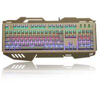K16 зернистость поколение оптической оси на ближний свет цвет металлическая панель игры клавиатура механически приостановлено различные световые эффекты