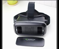 Wholesale VR Shinecon Virtual Reality D Movie Smartphone Game D Glasses Helmet D VR Cardboard quot Smart Phone Bluetooth Controller