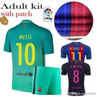 autumn names - AdultBarcelona Soccer Shirt Customized Name Digital High Quality Soccer Uniforms Football Shirt Shorts LFP