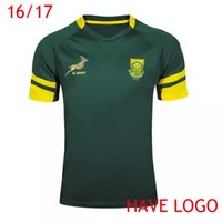 africa soccer - S XL Maillot South Africa Rugby Jersey Green Shirts maillot de Foot Maglia Adults Men dropshipping
