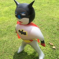 Wholesale new design cm Inflatable Toys Cartoon Bat Man Inflatable Stick Children Toys retail and wholesalewholesale
