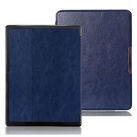 aura colors - Leather Cover Case for Kobo Aura H2O Ereader E book Colors in Stock Screen Protector Stylus Pen